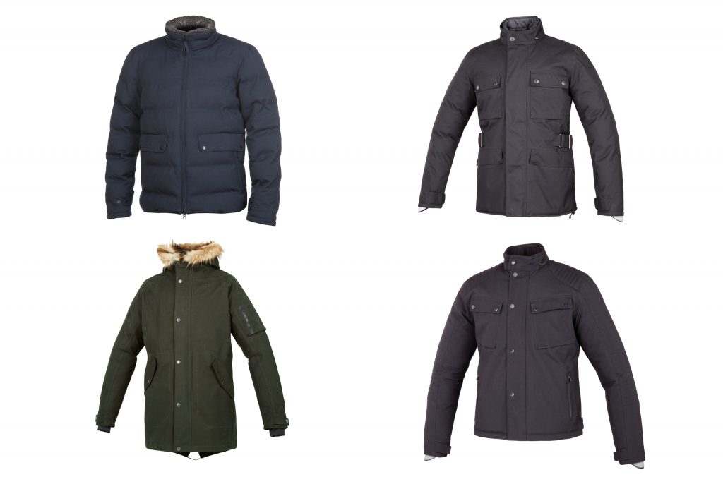 Stay warm and dry with Tucano Urbano