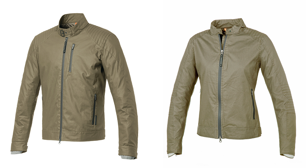 New Tucano Urbano textiles: POL and POLETTE jackets