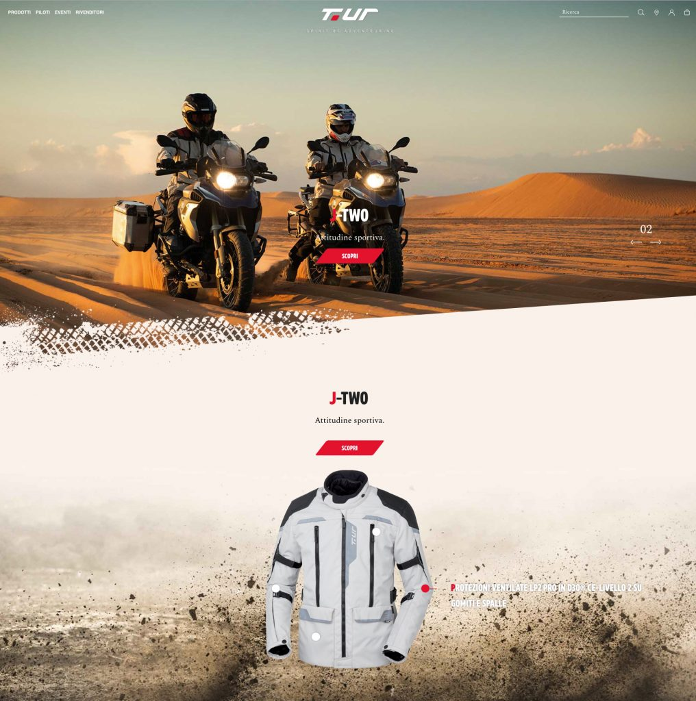 T.ur – exclusive specialised stores and a new website for adventouring riders