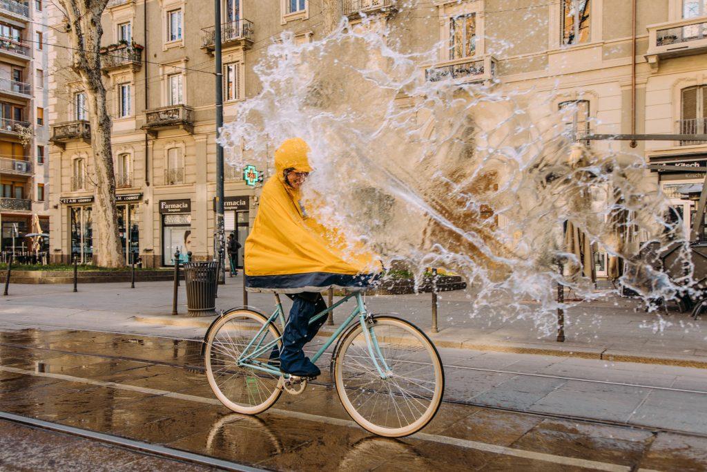 Beat the unpredictable weather with new urban rainwear from Tucano Urbano
